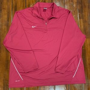 Nike pullover sweater 1/4 zip up